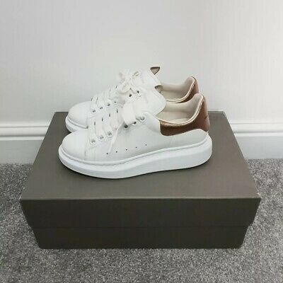 Alexander Mcqueen Trainers Size 3 White