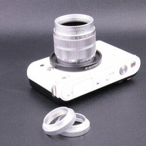 Fujian-35MM-f-1-7-CCTV-Movie-Lens-for-Nikon-J1-J2-V1-V2-V3-Adapter-C-N1-2ings