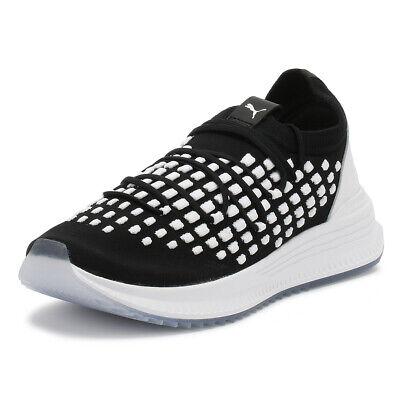 Il Migliore Puma Sneaker Uomo Black & White Avid Fusefit Sport Casual Scarpe Da Corsa-mostra Il Titolo Originale Non-Stireria