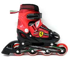 Ferrari Inline Skate verstellbare Kinder Inliner rot Gr. 30-33 Abec 5