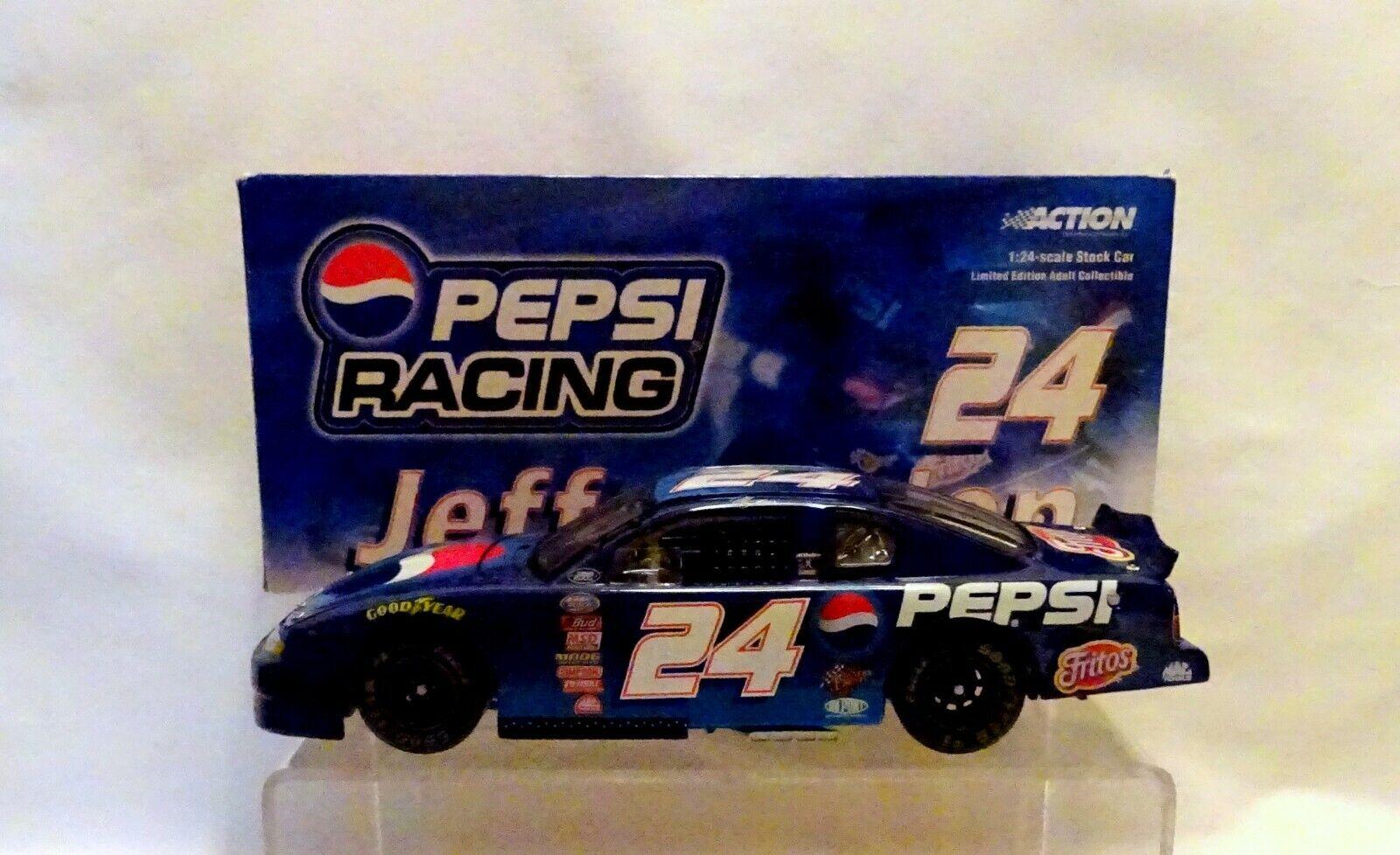 NASCAR Jeff Gordon PEPSI RACING 2000 Monte Carlo 1 24 Action      (82)