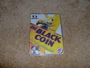 THE BLACK COIN CLIFFHANGER SERIAL 15 CHAPTERS 2 DVDS