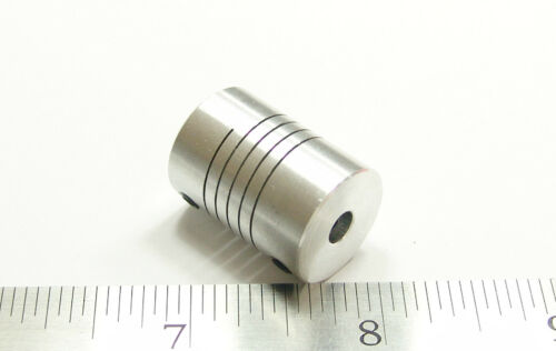 6 mm x 6 mm Aluminum Flexible Shaft Ballscrew Coupler Coupling CNC Linear Motion