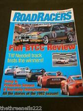AUTOSPORT ROADRACERS BTCC REVIEW 1992 36pp