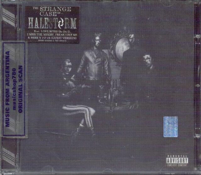 HALESTORM THE STRANGE CASE OF... + BONUS TRACK SEALED CD NEW 2013