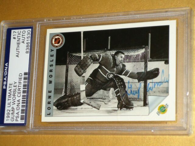1992 ULTIMATE, GUMP WORSLEY AUTOGRAPHED TRADING CARD.  PSA/DNA