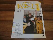 WING TSUN WELT  # 18 -- EWTO bei der Polizei / Escrima Technik mit Bill Newman