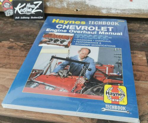 CHEVROLET V8 MOTOR HANDBUCH ÜBERHOLUNG WARTUNG DIAGNOSE 262-400 ALLE MOTOREN