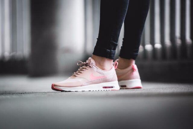 40c0b0f42eb8 Nike WMNS Air Max Thea Women Lifestyle SNEAKERS Pink Oxford 599409 ...