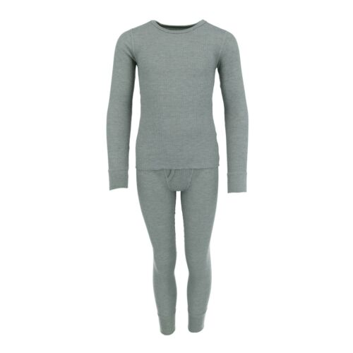 New Fruit of the Loom Boy/'s Waffle Knit Insulated Top and Bottom Long Underwear