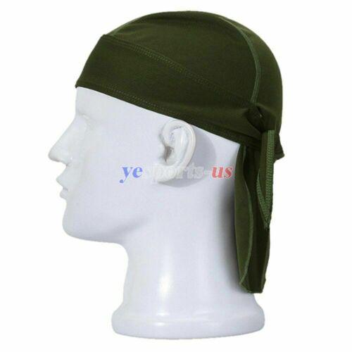 Quick Dry Skull Cap Motorcycle Cycling Helmet Liner Running Sweat Beanie Hat Cap