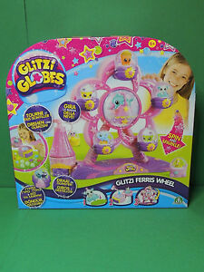 Glitzi Globes Ferris Wheel Playset / Set Grande Roue + 3 Mini Figurine Figure