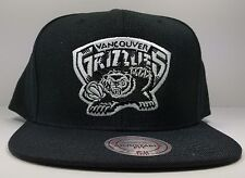 Memphis Vancouver Grizzlies Mitchell & Ness Vintage Solid Wool Snapback Hat NBA