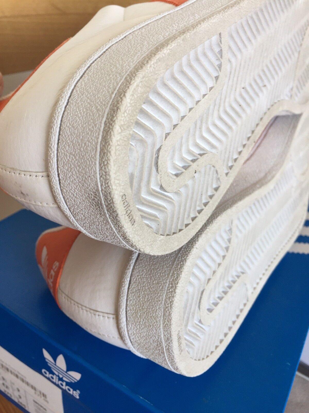 Certified Dame Dash 10 Owned Vintage Adidas Superstar 10 Dash Stan Smith Weiß Orange b04042