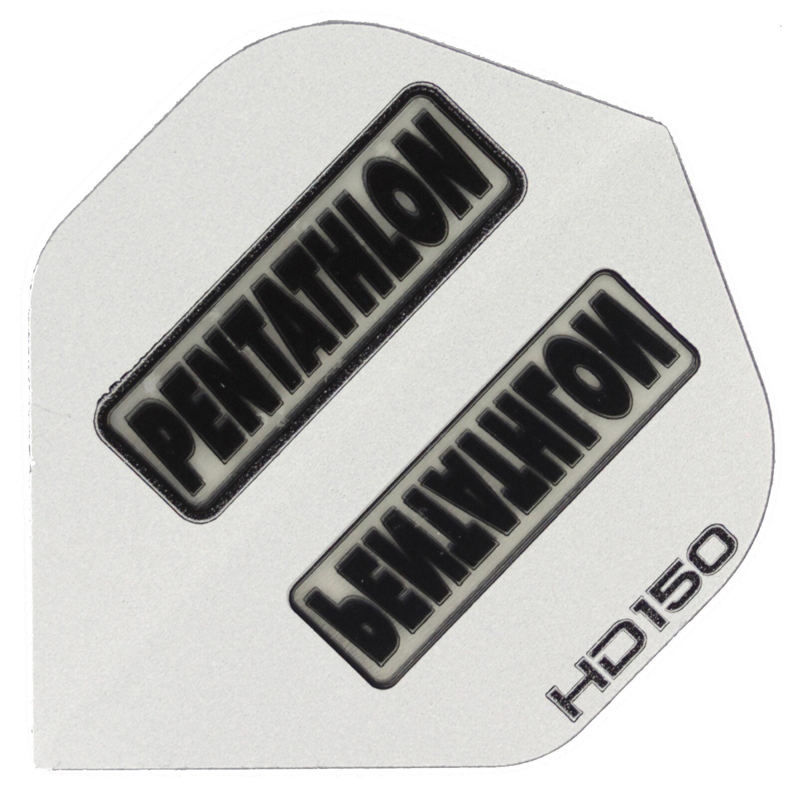Extra Stark 30 Stück Pentathlon HD150 Flights Slim Weiss 150 Mikron