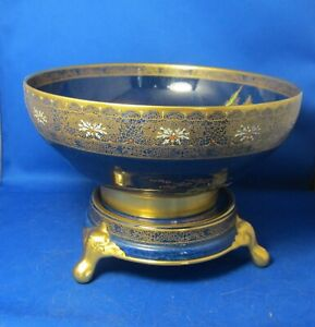 Carlton-Ware-New-Mikado-Pattern-Bowl-with-stand-ca-1930