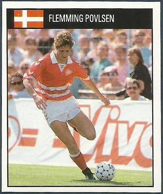 ORBIS 1990 WORLD CUP COLLECTION-#199-DENMARK-FLEMMING POVLSEN