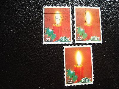 t a32 Briefmarke Yvert Und Tellier Nr Brillant Irland 586 X3 Gestempelt