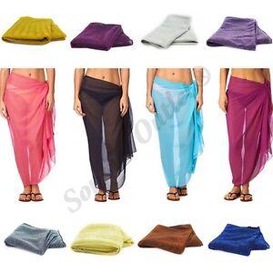 Ladies-Shawl-Scarf-Viscose-Glitter-Hijab-Beach-Sarong-Bickini-Wrap-Swiming-Dress