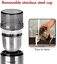 thumbnail 3 - Aigostar Electric Coffee Grinder Stainless Steel Bowl Spice Mill Beans Blender