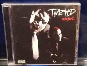 Twiztid - Wicked CD 4201 insane clown posse w.i.c.k.e.d. dark lotus tech n9ne