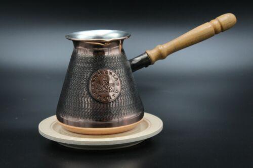 4-5 Tasses Cafetière CUIVRE arménien coffee pot maker Cezve ibrik Arménie jezve