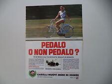 advertising Pubblicità 1984 GARELLI MOSQUITO