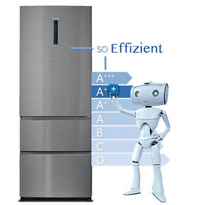 Haier A3FE742CMJ Kühl-Gefrierkombination EEK:A++ No Frost