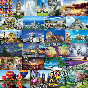 Jigsaw Puzzles 1000 Pieces for Adults Kids Large Puzzle Game Toys Gift,Cottage