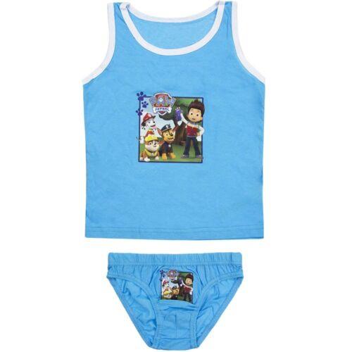 5389 Kinder Jungen Unterwäsche PAW PATROL RESCUE TEAM 2-teilig Hemd u Unterhose