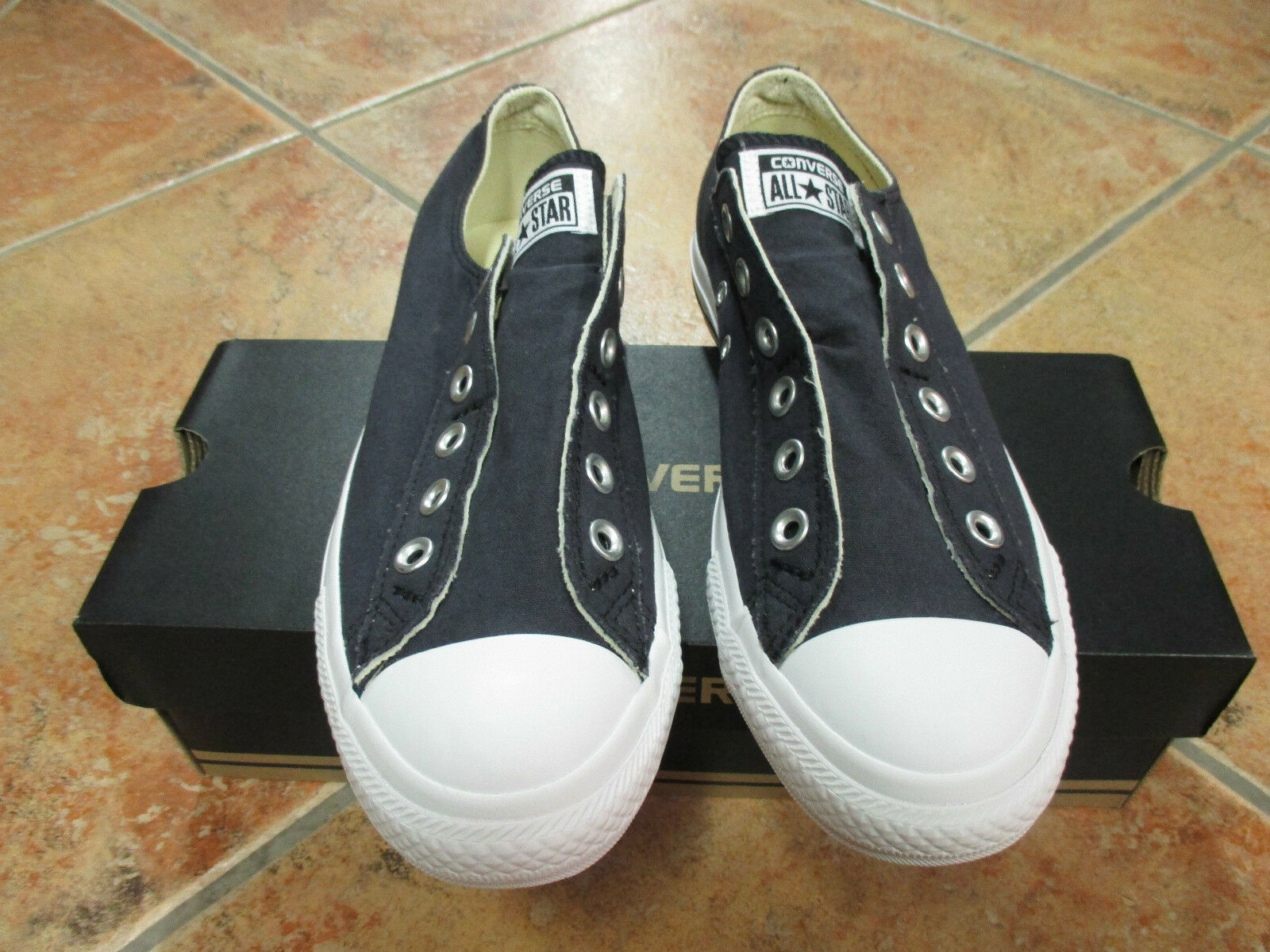 Converse Chucks All Star CT AS SLIP Größe 36 Black White Modell 1T366C Sneaker
