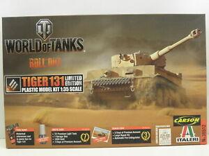 Italeri 36512 Modellbausatz World of Tanks Pz. Tiger 131  M. 1:35