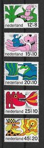Nederland L1199 - Grijpskerke, Nederland - NVPH nrs.: 912 t/m 916 cat.waarde NVPH 2017: 4 euro 90 portokosten koper Geen PayPal betalingen/overschrijvingen - Grijpskerke, Nederland