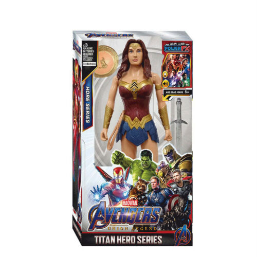 30cm Marvel Vingadores Venom Batman Superman Thanos Brinquedos De Boneca Figura De Ação Crianças