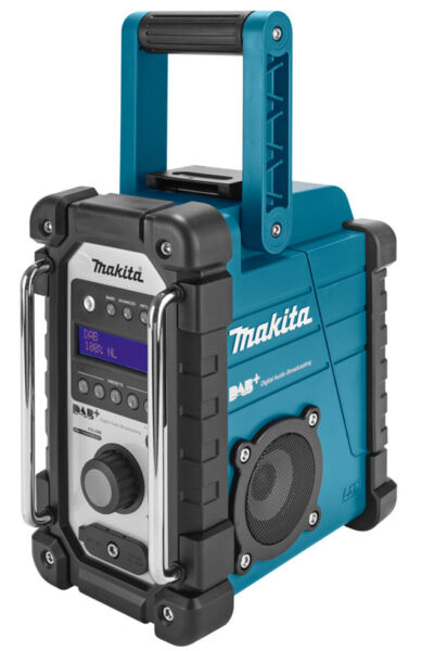makita dmr105 digital dab lxt jobsite radio for sale online ebay. Black Bedroom Furniture Sets. Home Design Ideas