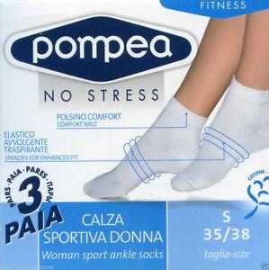 Confezione Da 3 Paia Head Sport Calzini Sneaker Uomo//Donna Sportivo Confezioni