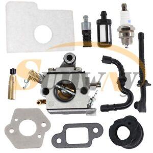 Carburateur-et-Tuyau-pour-STIHL-MS170-MS180-017-018-Tronconneuse-Filtre-a-Air