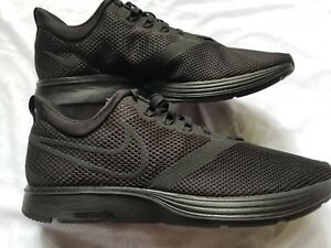 a4247bd0c58 Image is loading New-MENS-NIKE-ZOOM-STRIKE-TRIPLE-BLACK-Size-