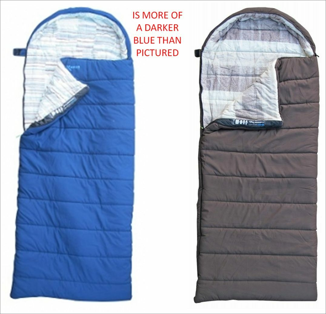 Kampa continental single 500g m2 camping caravan sleeping bag SB0403 SB0401