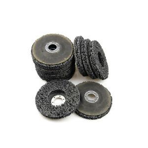 3-x-CSD-Scheibe-100-mm-schwarz-Reingungsscheibe-Flex-Set-Schleifscheiben-Neu-DE