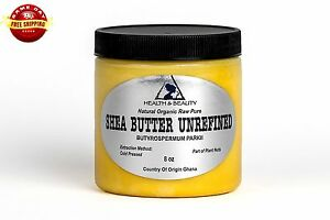 SHEA-BUTTER-UNREFINED-YELLOW-ORGANIC-RAW-COLD-PRESSED-GRADE-A-GHANA-PURE-8-OZ