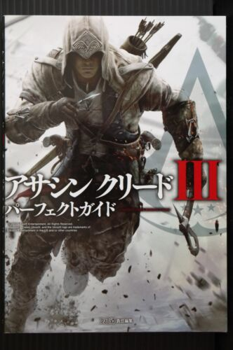 JAPAN Assassin/'s Creed III Perfect Guide Book