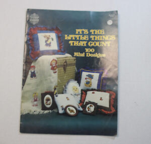 100 Mini Cross stitch designs, Its The Little Things That Count Gloria an Pat 12