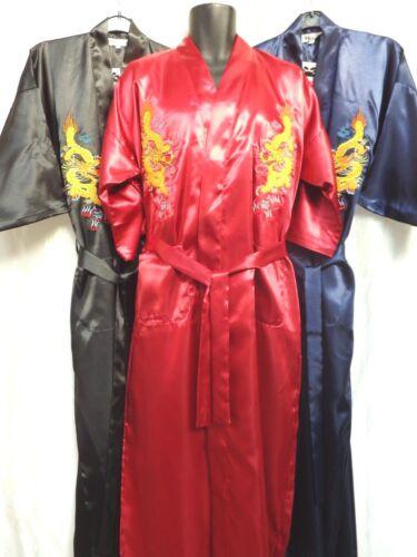 pleine longueur Homme 60/% Soie Oriental Robe Robe De Chambre Kimono Envoi Gratuit Royaume-Uni uniquement *