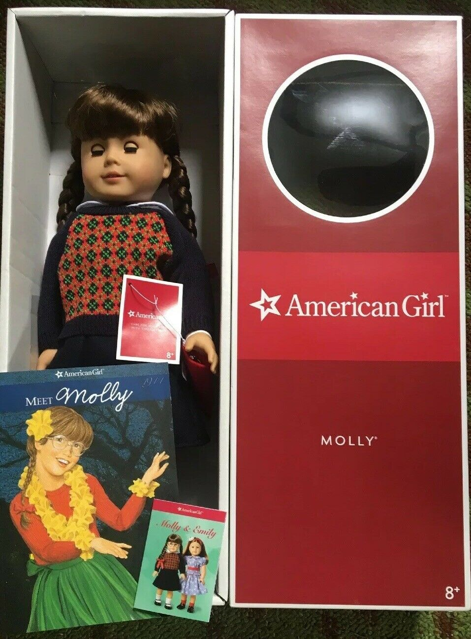 "RETIrot-18"" American Girl Doll MOLLY McINTIRE W Accessories 2008 in Box"