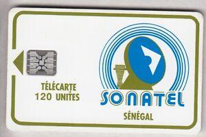 AFRIQUE TELECARTE - PHONECARD .. SENEGAL 120U SC5AN S-T V° LOGO2 GE.34672 PUCE ouodtNL2-09163520-300406474