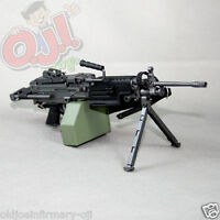 """Dragon Models M249 LMG SAW with Retractable Stock for 12"""" Figures 1:6 (5011g41)"""