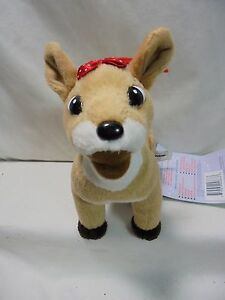 """CVS 6/"""" Misfit Doll Plush Rudolph The Red Nosed Reindeer New W//tag"""
