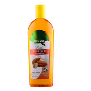 Hemani-Almond-Hair-Oil-200ml-with-coconut-oil-for-smooth-shiny-amp-strong-hair