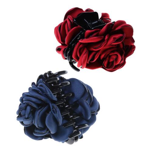 2 stücke Mode Haar Klaue Clamp Clip Headpiece Elegante Dame Party Ornamente